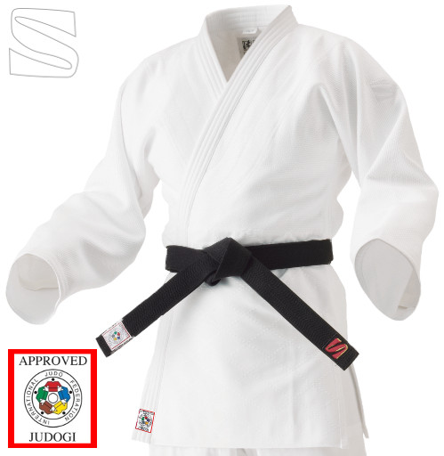 IJF Jacket for Kata (White)