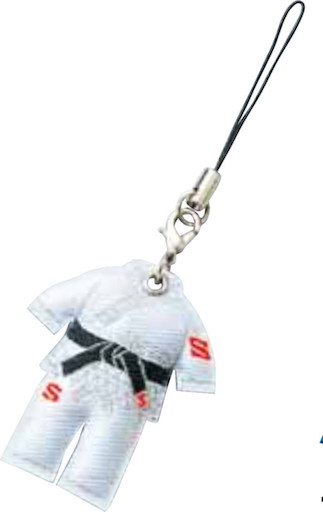 Cell Phone Strap Judogi (White)